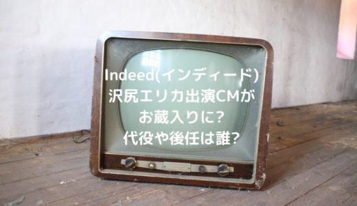 Indeed(インディード)沢尻エリカ出演CMがお蔵入りに?代役や後任は誰?