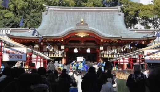 生田神社初詣2020参拝時間や期間はいつまで?混雑や屋台/駐車場も!