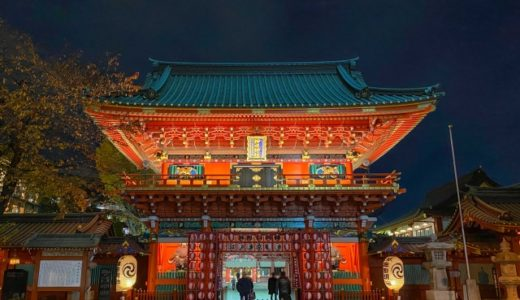 神田明神初詣2020参拝期間や時間はいつまで?屋台や混雑回避/駐車場も