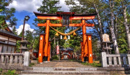 生島足島神社初詣2020混雑は?参拝時間/期間はいつまで?屋台/駐車場も
